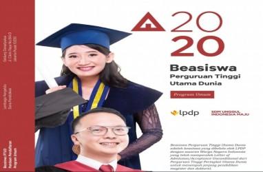 Pendaftaran Beasiswa LPDP 2020 Ditutup Hari Ini! Cek Syarat dan Segera Submit