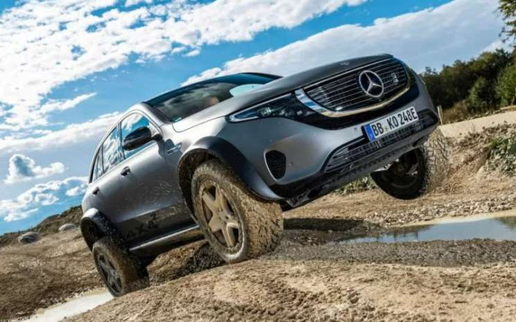 Mercedes Benz EQC 4x4.  - Mercedes Benz