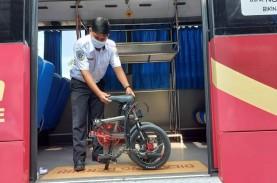 Menjajal Bagasi Sepeda Lipat di Bus JR Connexion
