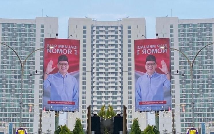 Baliho 'Arief muhammad Siap Menjadi Nomor 1' / Istimewa
