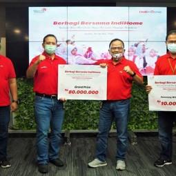 Telkom Regional II Gelar Acara Berbagi Bersama Indihome