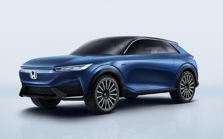 Honda SUV e Concept merupakan mobil konsep bertenaga listrik dari Honda yang akan diproduksi massal.  - Honda