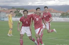 Hasil Timnas U-19 Vs Hajduk Split: Keren! Timnas Menang…