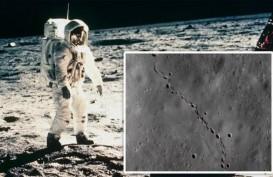 Ilmuwan NASA Temukan Jejak Kaki Aneh di Bulan