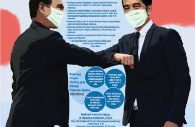 KUNJUNGAN PERDANA MENTERI JEPANG : Janji Suga untuk Jokowi