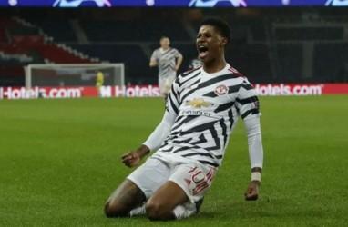 Hasil Lengkap Liga Champions : MU Hajar PSG, Barcelona Pesta Gol