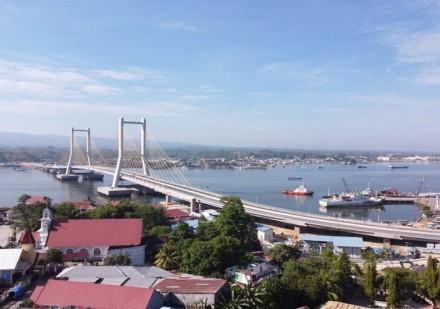 Foto-foto Jembatan Teluk Kendari yang Bakal Diresmikan Presiden