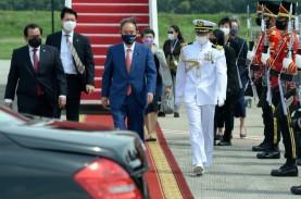 PM Suga Bantah Jepang Ingin Bentuk Pakta Pertahanan…