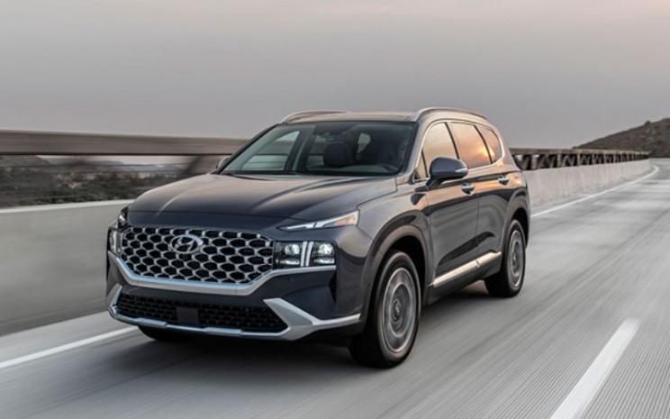 Hyundai Santa Fe 2021.  - Hyundai
