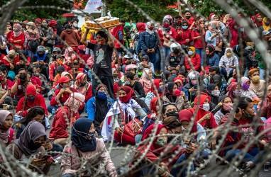 Buruh: Saat Krismon Upah tetap Naik, Pengusaha jangan Berdalih Pandemi