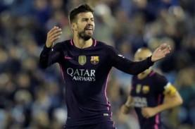 Barcelona Perpanjang Empat Pemain, Termasuk Pique