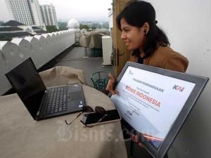 Harian Bisnis Indonesia Terima Penghargaan Dari PT Kereta Api Indonesia (Persero)