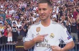 Lawan Shakhtar, Hazard Masih Absen Bela Madrid