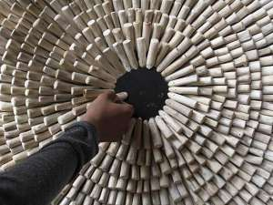 Perajin di Yogyakarta Manfaatkan Limbah Kayu Untuk Dekorasi dan Furnitur