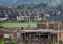 Ilustrasi pembangunan perumahan mewah./Antara/Aditya Pradana Putra
