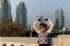 Sosok Alexandra Askandar, Wadirut Bank Mandiri yang Hobi Bersepeda