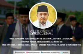 Pimpinan Pondok Gontor Abdullah Syukri Zarkasyi Wafat