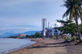 BNPB Serahkan Rp19 Miliar untuk Tangani Abrasi Pantai…