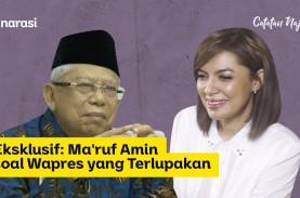 Dikritik Jarang Tampil, Ma'ruf Amin: Tidak Ada Dua…