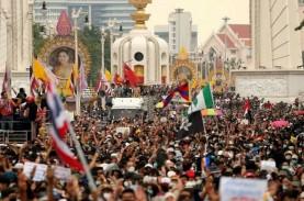 Demonstran Thailand Desak PM Prayuth Mundur dari Jabatannya…