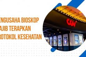 Bioskop Buka, Wajib Patuhi Protokol Kesehatan