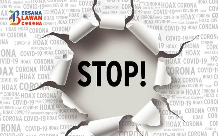 Poster Bersama Lawan Corona_Stop Hoax