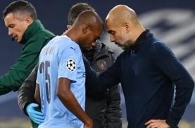 Gelandang Manchester City Fernandinho Cedera Lagi,…