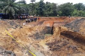 Tambang Batu Bara Ilegal di Muara Enim Berada Dalam…