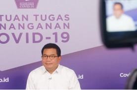Satgas Covid-19: Persentase Kasus Aktif di Indonesia…