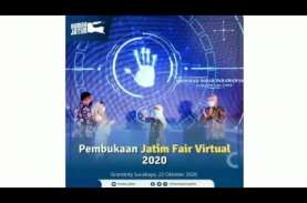 Digelar Virtual, 80 Persen Transaksi Jatim Fair 2020…