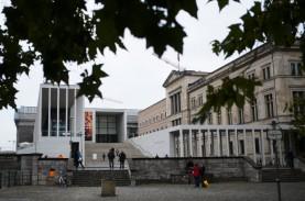 Lusinan Karya Seni di Komplek Museum Berlin Dirusak…