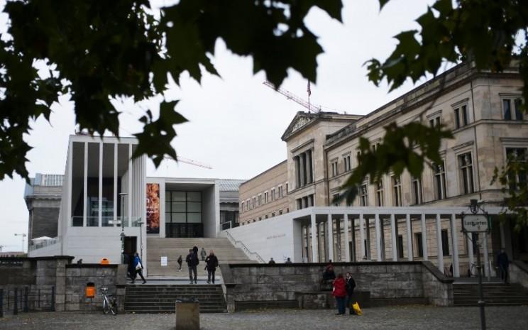 Benda-benda seni di Museum Berlin mengalami kerusakan. - Artnews