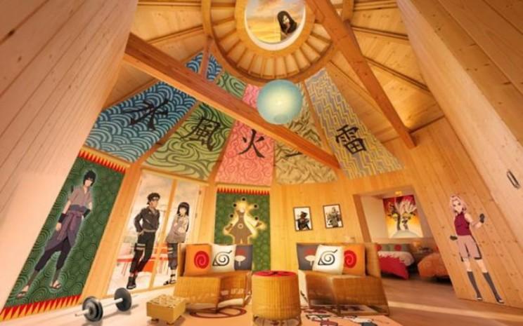 Kamar Naruto di  Vila Hokage. - Antara