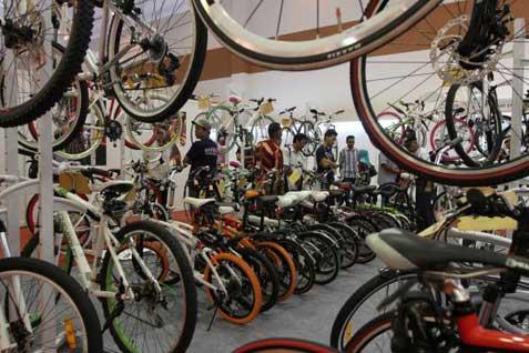 Ilustrasi sepeda