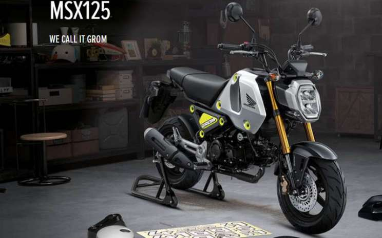 Honda MSX125 Grom - www.honda.co.uk