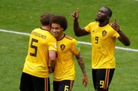 Belgia Tetap Teratas Peringkat FIFA, Indonesia 173,…