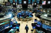 Saham Bank Beterbangan, Wall Street Pesta Pora