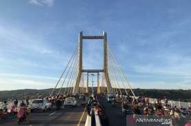Buruan Rekreasi ke Jembatan Teluk Kendari, Hanya Dibuka…