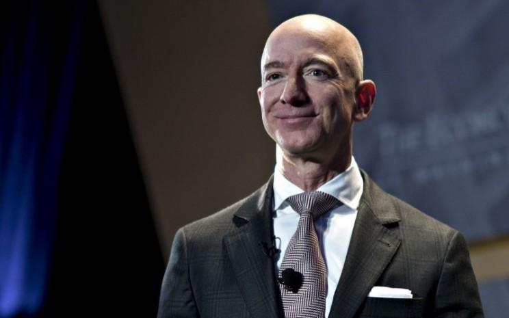 Pendiri dan CEO Amazon.com Inc. Jeff Bezos - Bloomberg