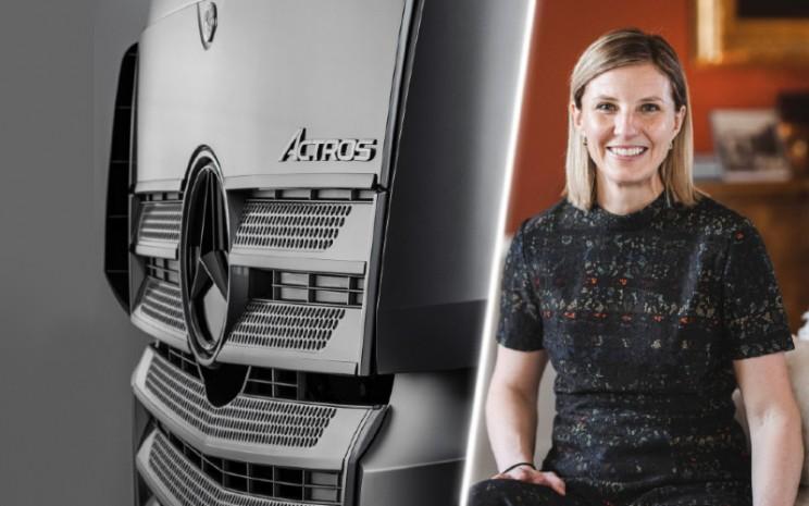 Karin Radstrom, Anggota Dewan Manajemen Daimler Truck AG.  - Daimler Truck AG