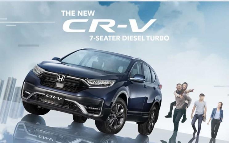 New Honda CR-V diluncurkan di Filipina. - Istimewa