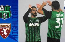 Poin Pertama Torino Gagalkan Sassuolo Puncaki Klasemen Serie A