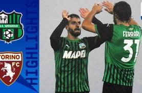 Poin Pertama Torino Gagalkan Sassuolo Puncaki Klasemen…