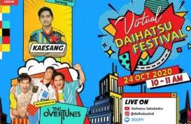 Kaesang Berbagi Tips Wirausaha di Virtual Daihatsu Festival