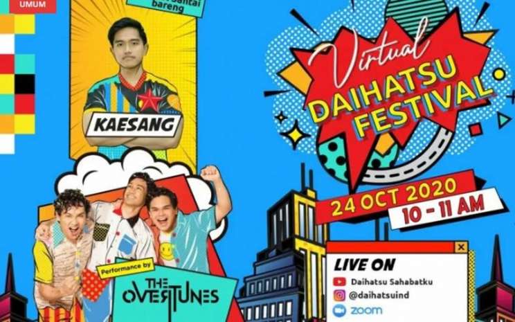 Kaesang akan berbagi tips wirausaha di Virtual Daihatsu Festival. - Antara