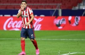 Hasil La Liga : Atletico Madrid Belum Terkalahkan, Sevilla Takluk Lagi