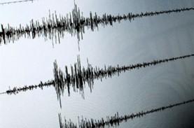 Gempa Magnitudo 5,9 Guncang Pangandaran Pagi Ini
