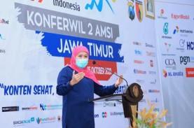 Gubernur Jatim Buka Konferwil AMSI: Konten dan Industri…