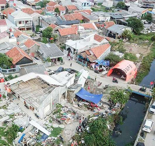 159 Rumah di Bekasi Rusak Akibat Diterjang Angin Puting Beliung