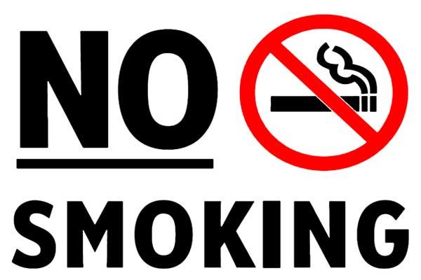 Dilarang merokok.  - bisnis.com